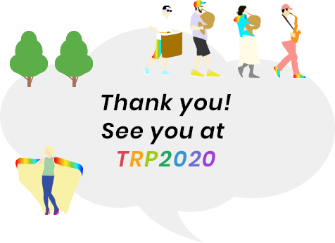 Thank you! See you at TRP2020